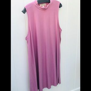 Pink Rose 3XL dress super soft pink new